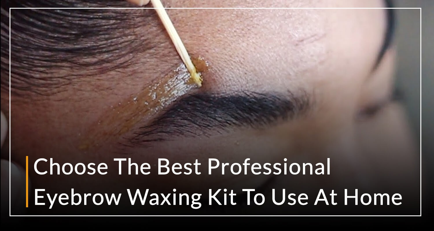 Professional Eyebrow Waxing Kit