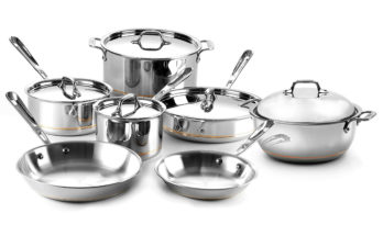 copper core stainless steel cookware